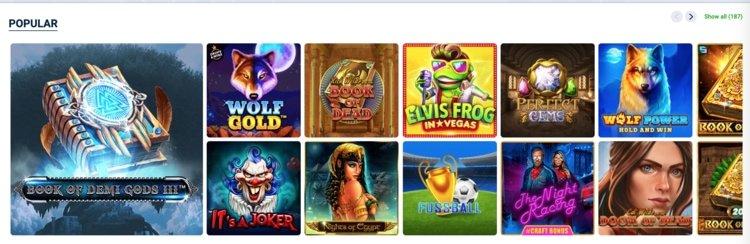 jeux de casino sur 20bet
