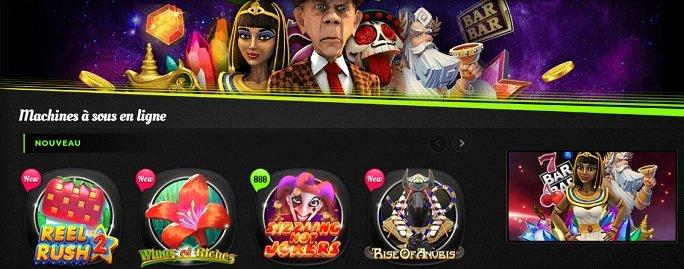 888 Casino - machines à sous