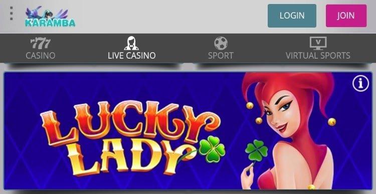 Karamba casino mobile