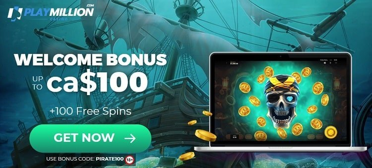 Offre exclusive Playmillion casino