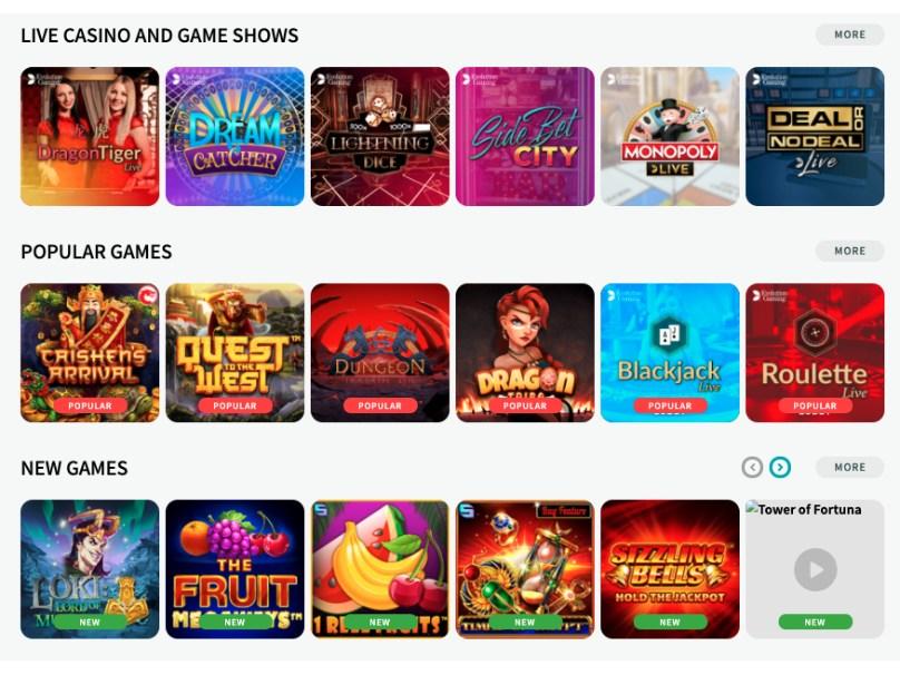 coinsaga games