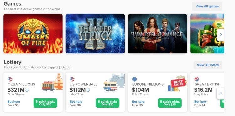 selection jeux lottomart