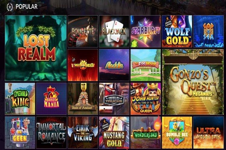 les jeux vegaskings casino