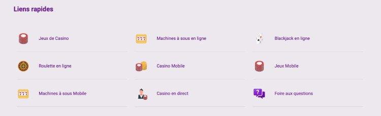 liens rapides casino jackpot city français