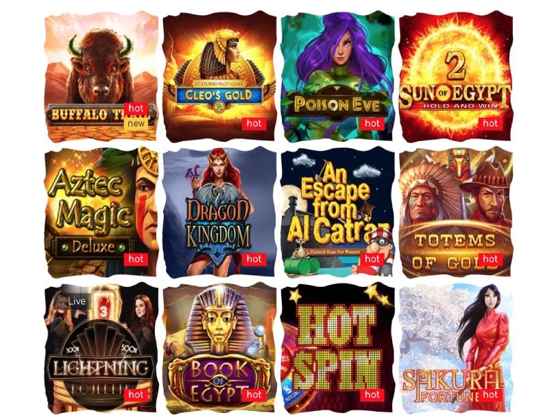 loki casino jeux