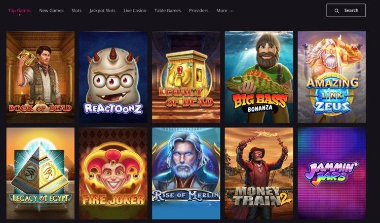 jeux playgrand casino