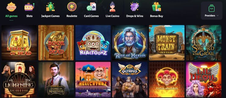 slothunter casino jeux de casino